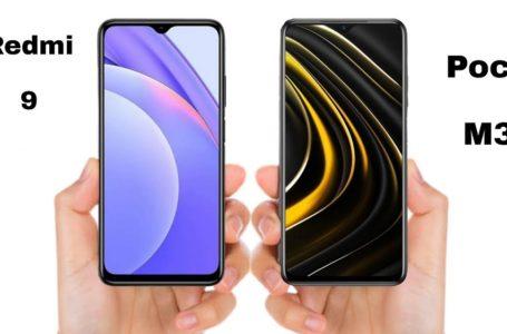 Poco M3 или Redmi 9 – сравнение смартфонов